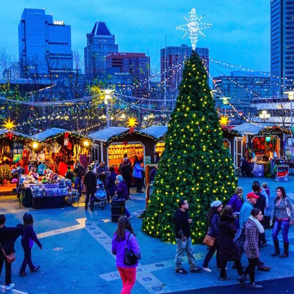 6 christmas markets in the us open on christmas eve eat for Christmas classic art craft festival