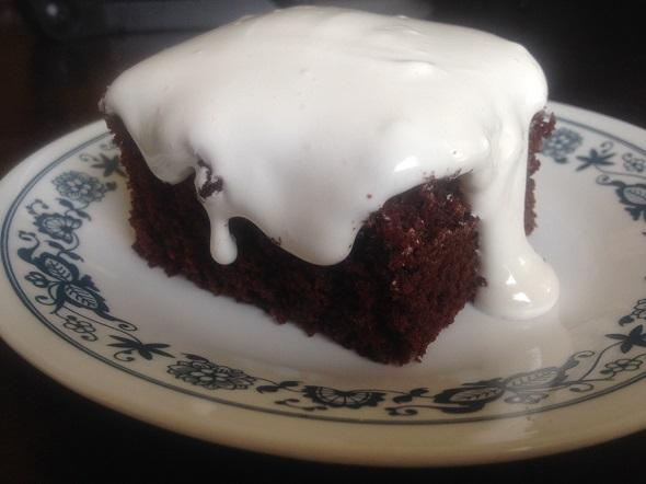 Iowa Chocolate Cake with Boiled Frosting Recipe - Eat the Globe