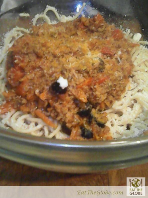 Spaghetti Sauce with Ground Beef - Eat the Globe
