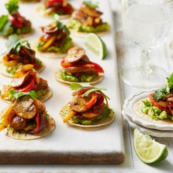 Christmas in australia christmas recipes with an aussie twist these spiced mushroom and avocado tostadas are the epitome of the modern australian cuisine and perfect as a side dish or as an appetizers for the christmas forumfinder Images