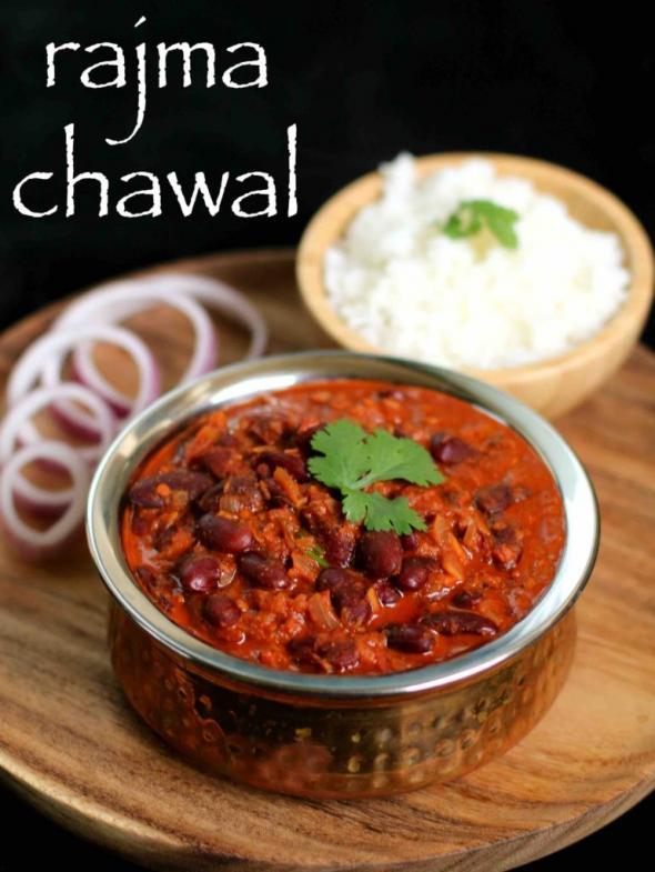 Rajma Chawal Recipe Hebbar Kitchen